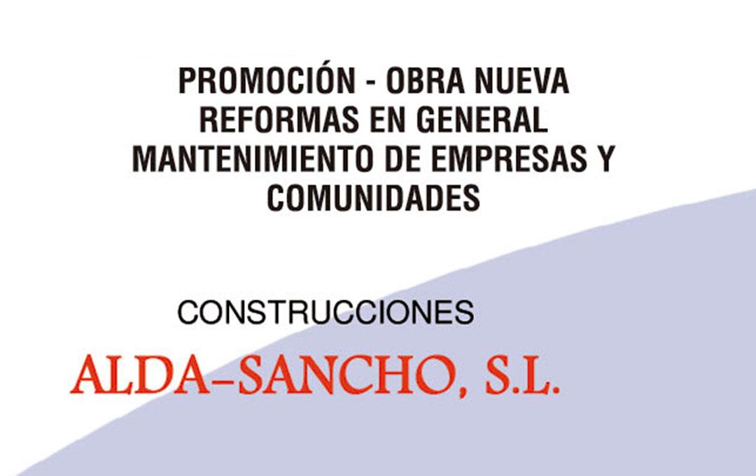 Construcciones Alda-Sancho, S.L.
