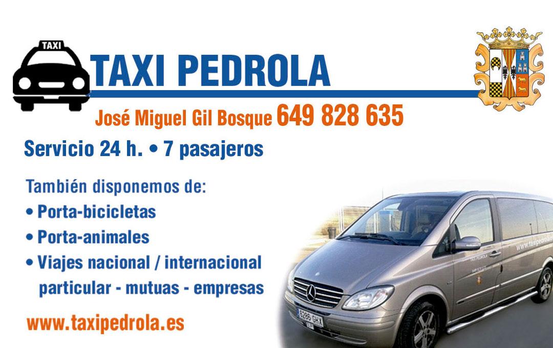 Taxi Pedrola José Miguel Gil Bosque