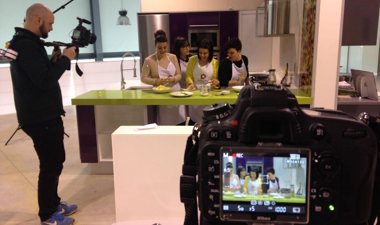Terminado el rodaje de ¡Aquí huele rico!, programa de cocina de Pedrola TV