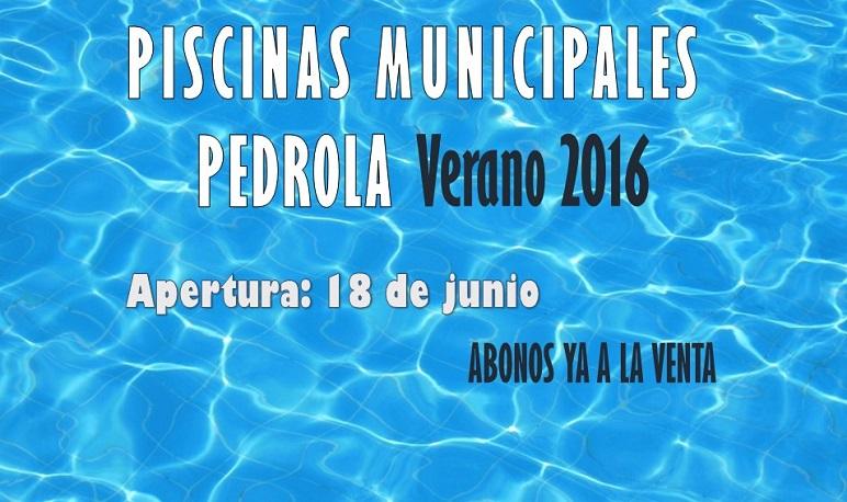 El próximo sábado 18 de junio se abren las piscinas municipales