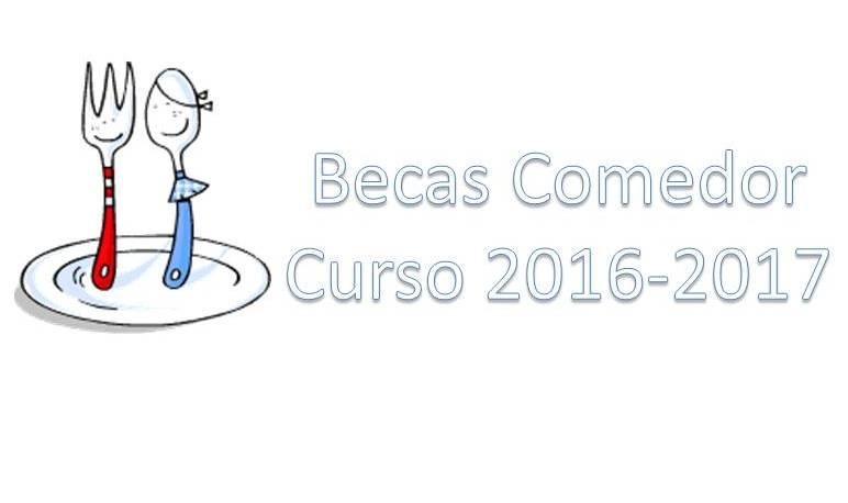 Becas de comedor para el curso 2016-2017 - Ayuntamiento de Pedrola