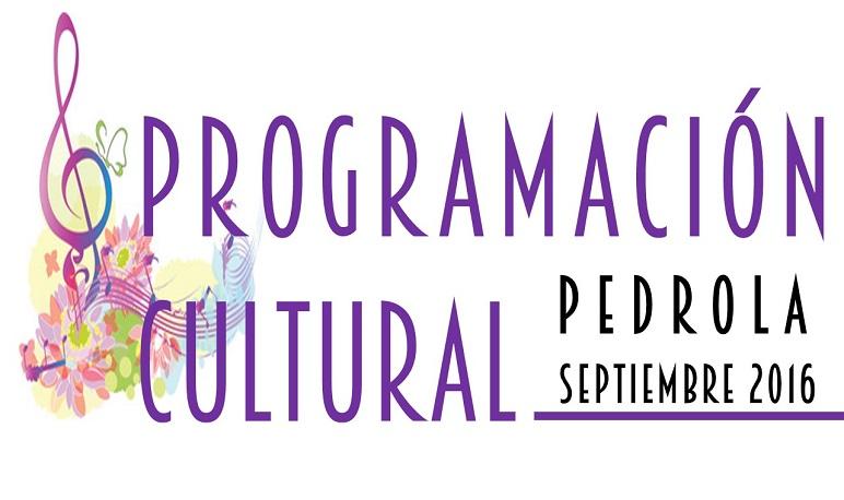 Conoce la programación cultural para este mes de septiembre de 2016 en Pedrola