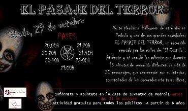 En Halloween no te pierdas… EL PASAJE DEL TERROR