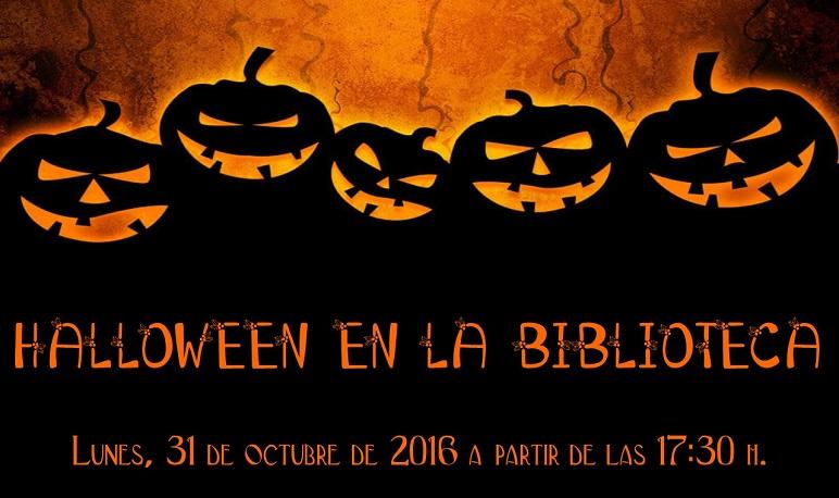 Celebra Halloween en la Biblioteca Municipal