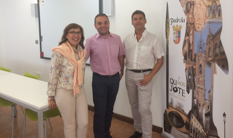 Visita del Director Gerente del ITA al CIEM El Matadero