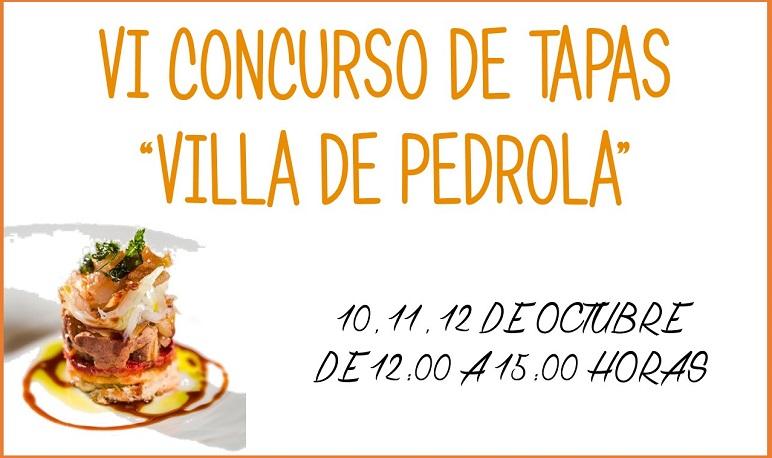 """VI Concurso de Tapas """"Villa de Pedrola"""""""