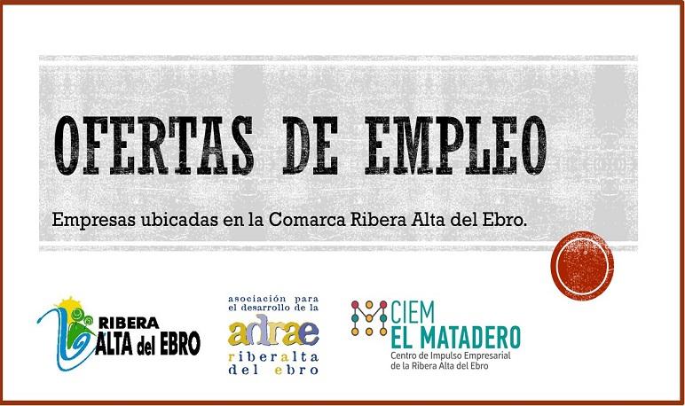 El CIEM El Matadero publica diferentes ofertas de empleo.