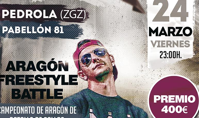 Llega a Pedrola el ARAGÓN FREESTYLE BATTLE este viernes 24 de Marzo