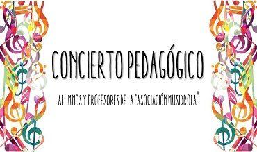 """Concierto Pedagógico de la Asociación """"Musidrola"""""""