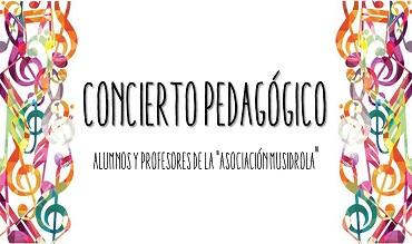 Concierto Pedagógico de la Asociación «Musidrola»