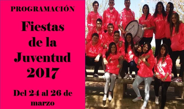 Programación de las FIESTAS DE LA JUVENTUD 2017