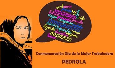 Pedrola conmemora el día de la mujer trabajadora.