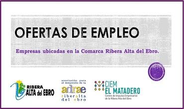 El CIEM El Matadero anuncia nuevas ofertas de empleo.
