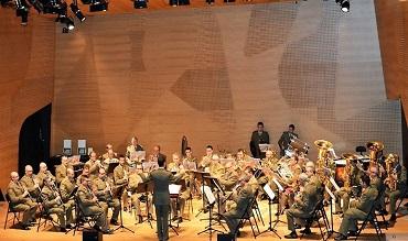 Concierto de la Unidad de Música de la Academia General Militar