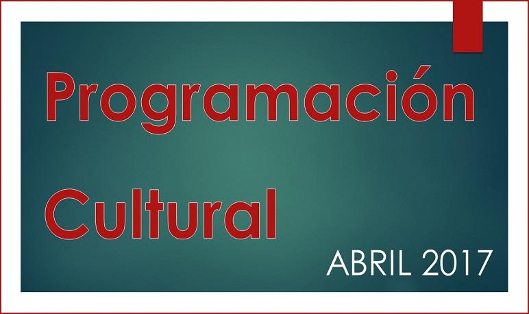 Programación Cultural durante el mes de abril en Pedrola