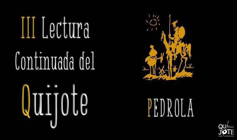 III Lectura Continuada del Quijote en Pedrola
