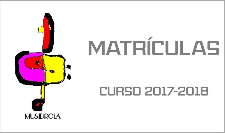 La Asociación Musidrola abre el plazo de matriculación para el curso 2017-2018
