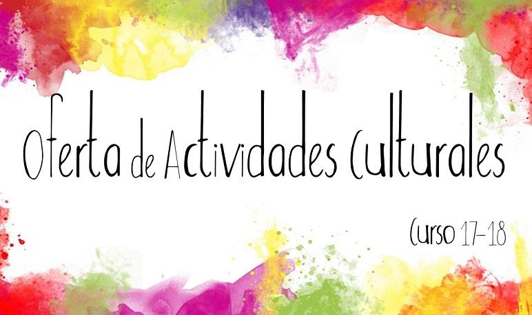 Oferta de Actividades de la Casa de Cultura para el Curso 17-18