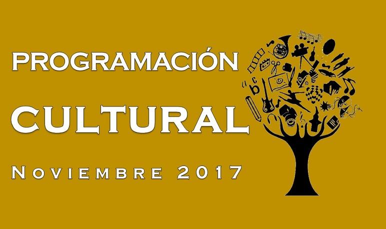 Programación Cultural Noviembre 2017