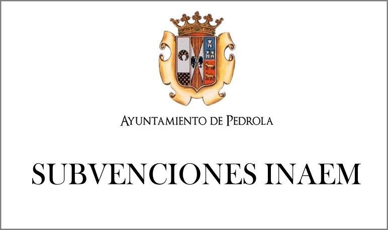 Subvenciones concedida por el INAEM para la contratación de personas y jóvenes desempleados