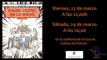 """El grupo de teatro de la Casa de Juventud """"Teatrola"""" estrena su nueva obra"""
