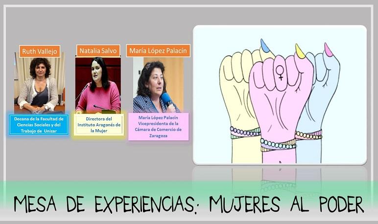 Mesa de experiencias: Mujeres al poder