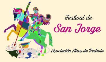 La Asociación Aires de Pedrola celebra San Jorge con folklore