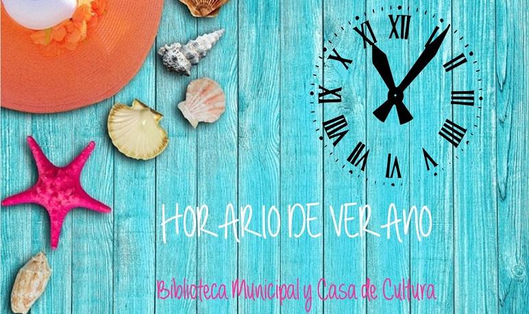 Horario de verano: Biblioteca Municipal y Casa de Cultura de Pedrola
