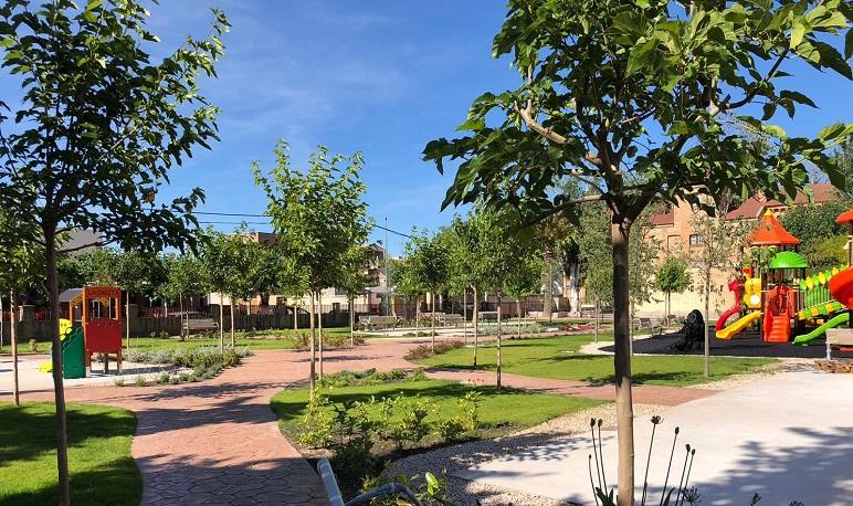 Inauguración del Parque del Tío Gregorio