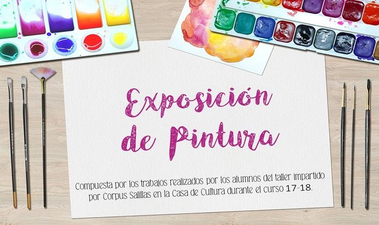 Exposición de Pintura Fin de Curso 2017-2018