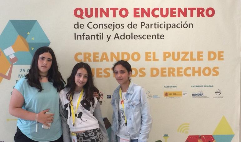 Pedrola participó en el V Encuentro Estatal de Consejos de Infancia