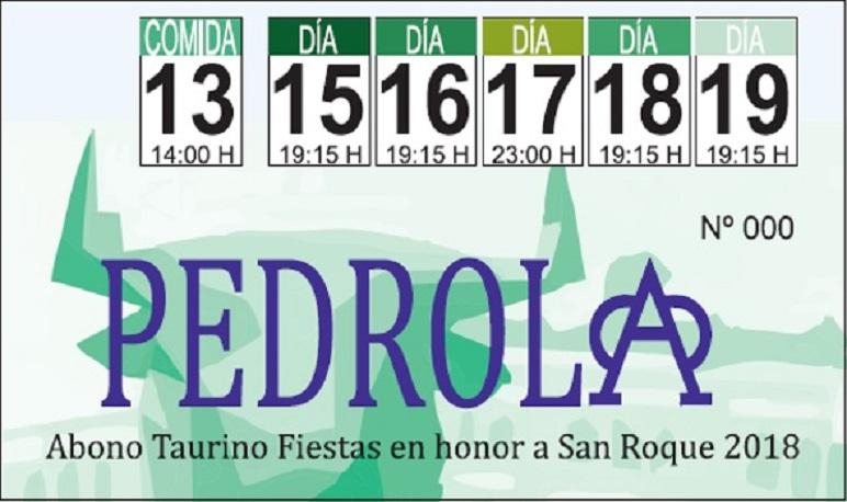 Venta de Abonos y Tickets de Fiestas de San Roque 2018