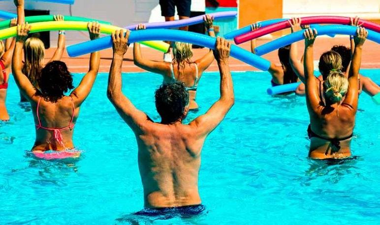Taller gratuito de Aquagym en las Piscinas Municipales