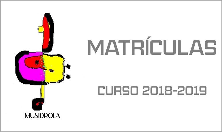 La Asociación Musidrola abre el plazo de matriculación para el curso 2018-2019