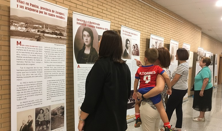 La Casa de Cultura acoge una exposición sobre María Moliner
