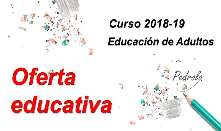 Abierto el plazo de matriculación para el Aula de Educación de Adultos de Pedrola