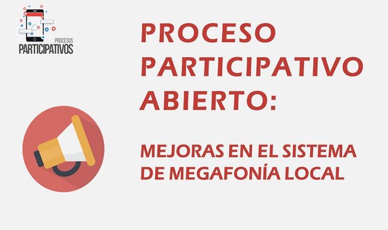 El Ayuntamiento ha abierto un proceso participativo para mejorar la megafonía local.
