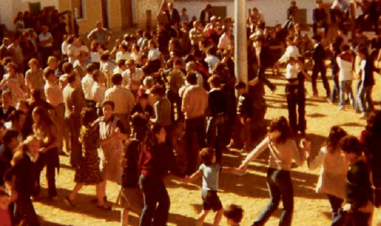 Concentración de «Pilares» durante las Fiestas del Pilar en Pedrola