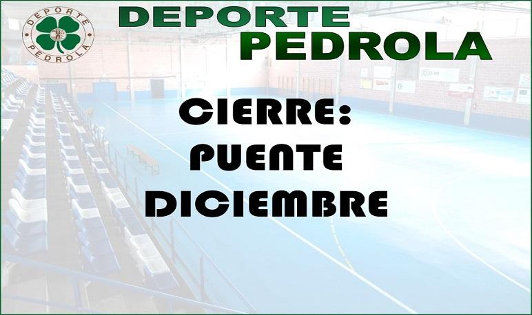 Cierre Puente de Diciembre Deporte Pedrola