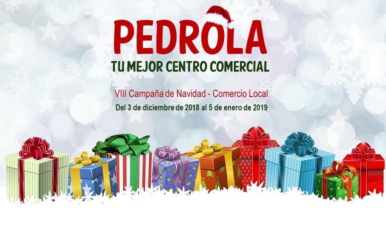 """Bajo el lema """"Pedrola, tu mejor centro comercial"""" se lanza la VIII Campaña de Navidad del Comercio Local"""
