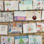 Entrega de premios a los ganadores de los concursos navideños organizados por la Biblioteca