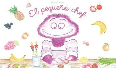 """Bernard Bravo presenta su primer álbum infantil ilustrado """"El Pequeño Chef"""" en Pedrola"""