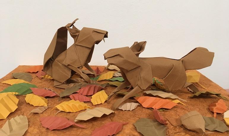 Exposición y taller de Origami en la Biblioteca