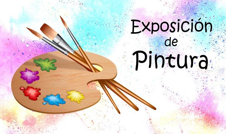 Exposición de trabajos de los alumnos del taller de pintura
