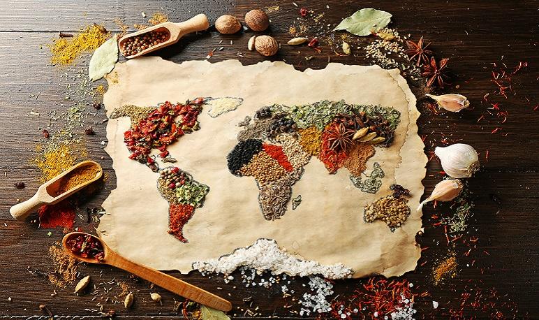 Viaje por las cocinas del mundo en Pedrola