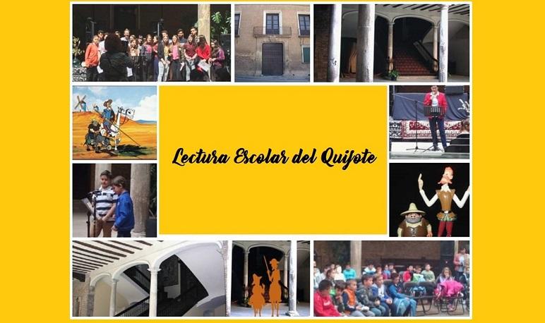 Los centros educativos de Pedrola homenajean al Quijote en el Palacio de Villahermosa