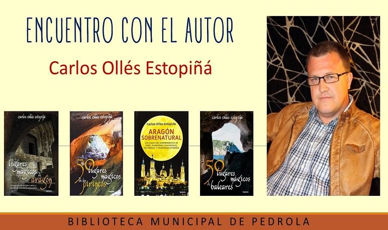 Encuentro con el autor Carlos Ollés Estopiñá