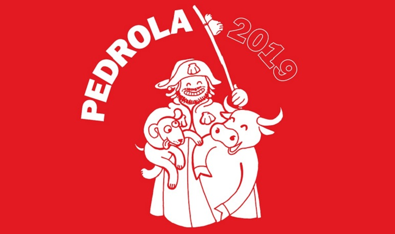 Venta de camisetas, cachirulos y fajines de las Fiestas de Pedrola 2019