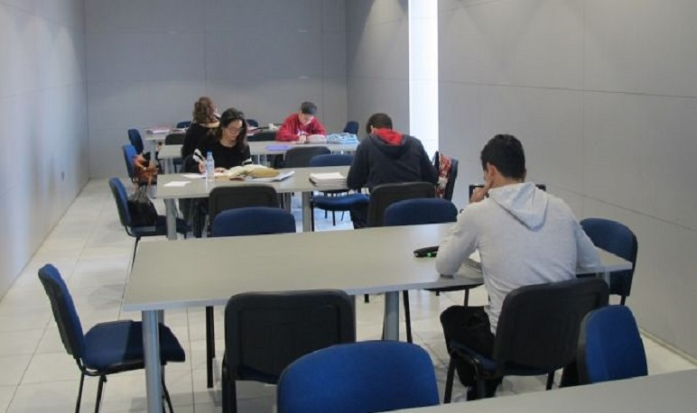 Exámenes de septiembre: Dos aulas de estudio en la Casa de Cultura de Pedrola