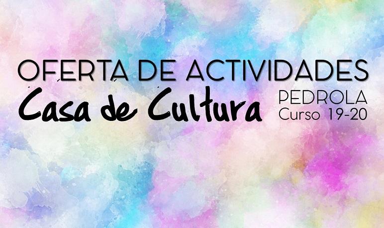 Oferta de actividades culturales para el curso 2019-2020